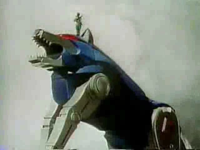 Blue wolf zord - photo#53